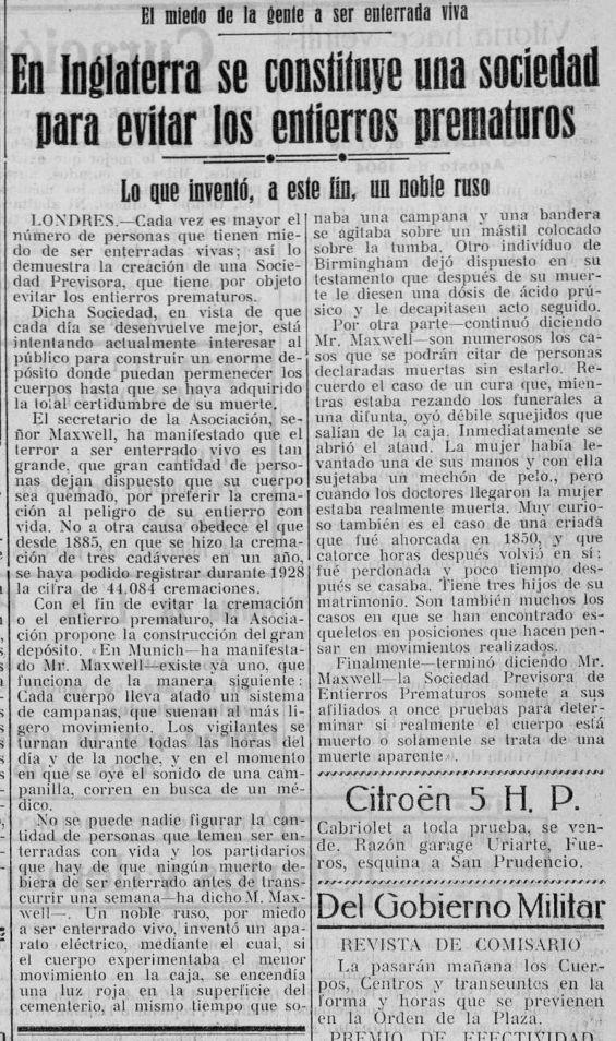 Heraldo Alavés  (31-08-1929) Miedo a ser enterrado vivo-3.jpg