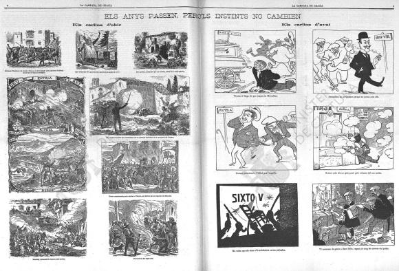 La Campana de Gracia (03-06-1911) Humor Grafico-4